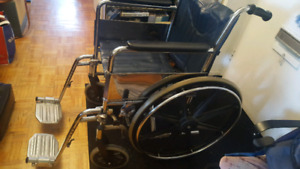 Wheel chair (foldable) with tool kits