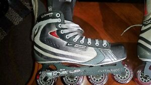 Size 10 Nike Bauer Vapour Rollerblades Peterborough Peterborough Area image 2