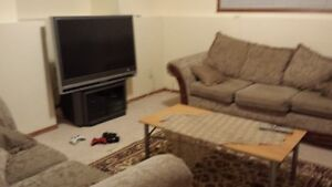 2 B/R Furnished Basement Suite for rent availabe immediately