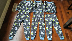 3 sets of BNWT Boys PJs long sleeves and pants, one 4T, two 5T