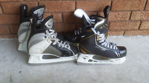 - Many Hockey (Size 1 - 5) & Figure (Size 4 -6) Skates & Equip.