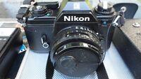 Nikon EM 35mm Camera $100.