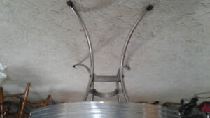 Vintage 1950'style Firekrome table and chairs