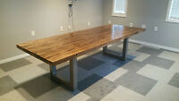 Beautiful Refinished Bowling Alley Table