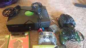 Original modded xbox and games bundle