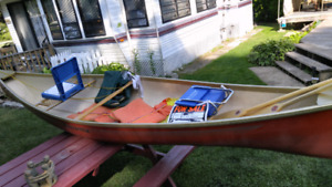 Kawartha canoe. New ad ons