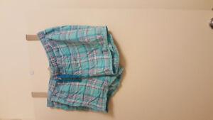Plus size 3 bras, pj shorts & pyjamas