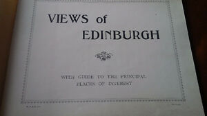 Views of Edinburgh, With Guide to Principal Places of Interest Kitchener / Waterloo Kitchener Area image 2