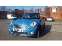 Mini One Hatch 2014 Kite Blue £9000