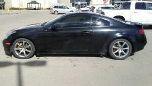 '03 M6 Infiniti G35 coupe in black