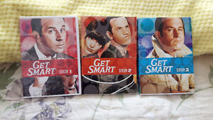 Get Smart complete 3 seasons agent 86, 99 the chief and the rest