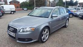 2005 Audi A4 Avant 2.0TDI DIESEL SLine Estate 1 Owner Long MOT Bargain