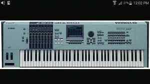 Yamaha Motif XS8 flagship keyboard piank workstation London Ontario image 1