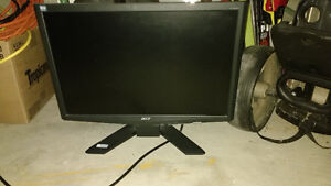"""19"""" Acer wife screen LCD monitor"""