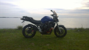 2006 FZ6 100hp model, converted to naked