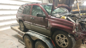 Need Gone ASAP OBO 99 Grand Cherokee parts car