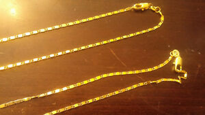 "Beautiful 24"" Gold filled chain / necklace"