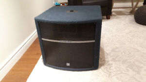 Yorkville Powered Subwoofer - 600 watt - Mobile Dj, Band PA Sub