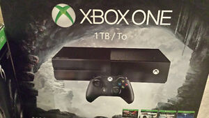 Xbox One 1tb & Afterglow Headset Plus Games
