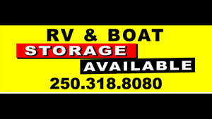 RV , parking and boat storage