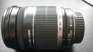 canon EF S 18 200 IS all purpose super zoom lens