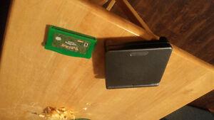 Gameboy Advance SP AGS-101 w/ Pokemon Leaf Green