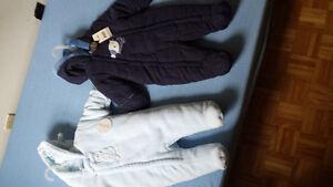 snow suits 0-3 / 3-6