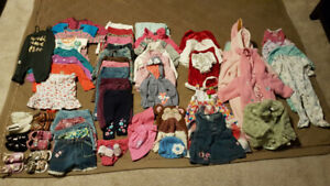 Baby girl's clothing lot (6-12 months)
