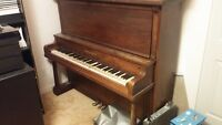 Muelhauser upright piano