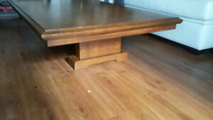 REDUCED $$$  .OAK Coffee table, Sideboard and Armoire