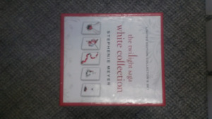 Twilight book series the white collection
