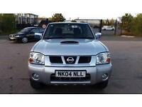 2004 NISSAN D22 2.5 DI 4X4 NAVARA Low Miles 12mth Warranty AA Cover No Vat