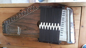 Oscar Schmidt 15 Key Autoharp Zither Musical Instrument