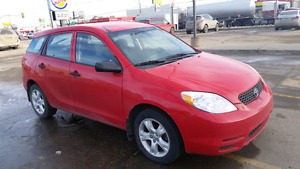 2004 Toyota Matrix - Manual