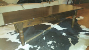 Pottery Barn Coffee Table - Rustic Look $50