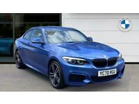 2020 BMW 2 Series 218i M Sport 2dr [Nav] Step Auto Petrol Coupe Coupe Petrol Aut