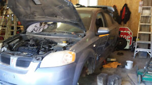 Parting Out a 2007 Pontiac Wave / Chev Aveo