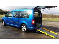 2011 VW Caddy Maxi Life AUTOMATIC Wheelchair Disabled Accessible Vehicle