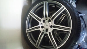 Mercedes AMG CLS replicas, rims and tires 255 35Z R19
