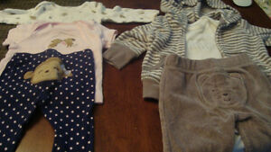 BABY GIRL carter outfits $2.00/each Kitchener / Waterloo Kitchener Area image 3