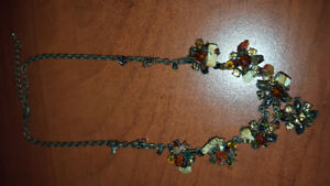 Stones and rocks necklace