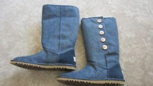 Neuf - Bottes Ugg 8 bleu printemps et automne