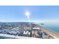 Amazing double room with sea views 'behind churchill square'