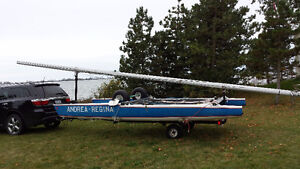 Catamaran and trailer for sale