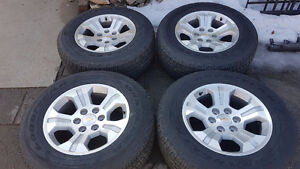 "!! CHEV / GMC TRUCK / SUV FACTORY 18""RIMS & TIRES $1350.00 !!"