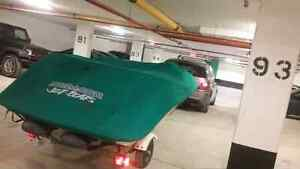 Jet boat 170hp twin engine fast family boat