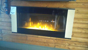 ELECTRIC FIREPLACE WALLMOUNT (with heater)