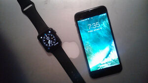 Iphone 6 (unlocked) and Apple Watch
