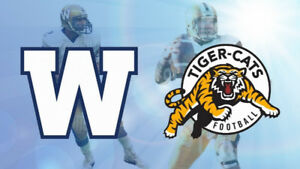 ★Hamilton Tiger-Cats vs. Winnipeg Blue Bombers ★FRI Jun 29 7PM