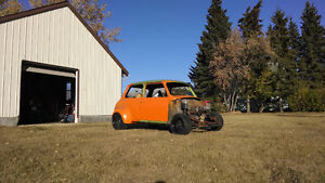 Classic Mini race car project